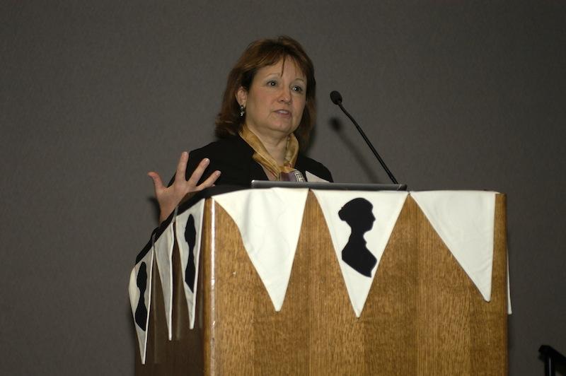 JASNA president Iris Lutz