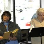 JASNA Members - Phyllis Thorpe and Shirley Bassett
