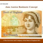 2017 Ten Pound Note featuring Jane Austen