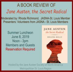 A Book Review: Jane Austen, the Secret Radical